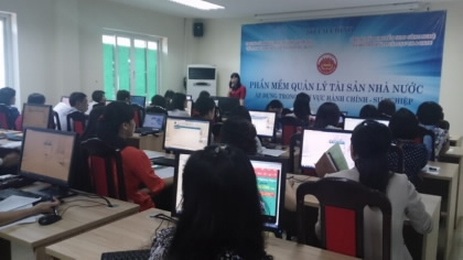 Bộ Tài nguyên và Môi trường triển khai Phần mềm Quản lý tài sản cố định
