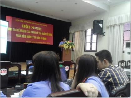 Viện kiểm sát nhân dân thành phố Hà Nội triển khai Phần mềm Quản lý tài sản cố định